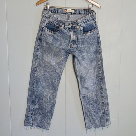 Levi's Denim - Levi's Cropped Dad Jeans 505's